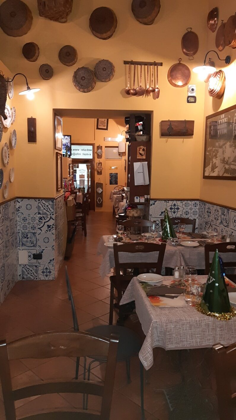 inside trattoria chanteclers