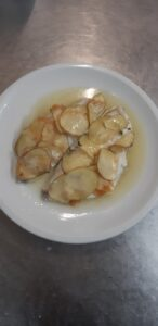 pesce con patate chanteclers